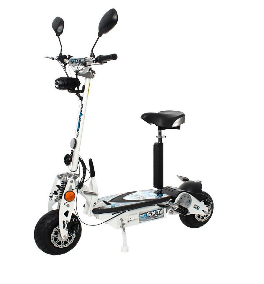 E-Scooter »SXT500 EEC«, 500 Watt, 25 km/h in weiß