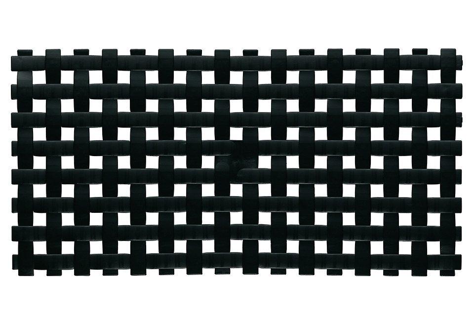 Wanneneinlage »Samos« in schwarz