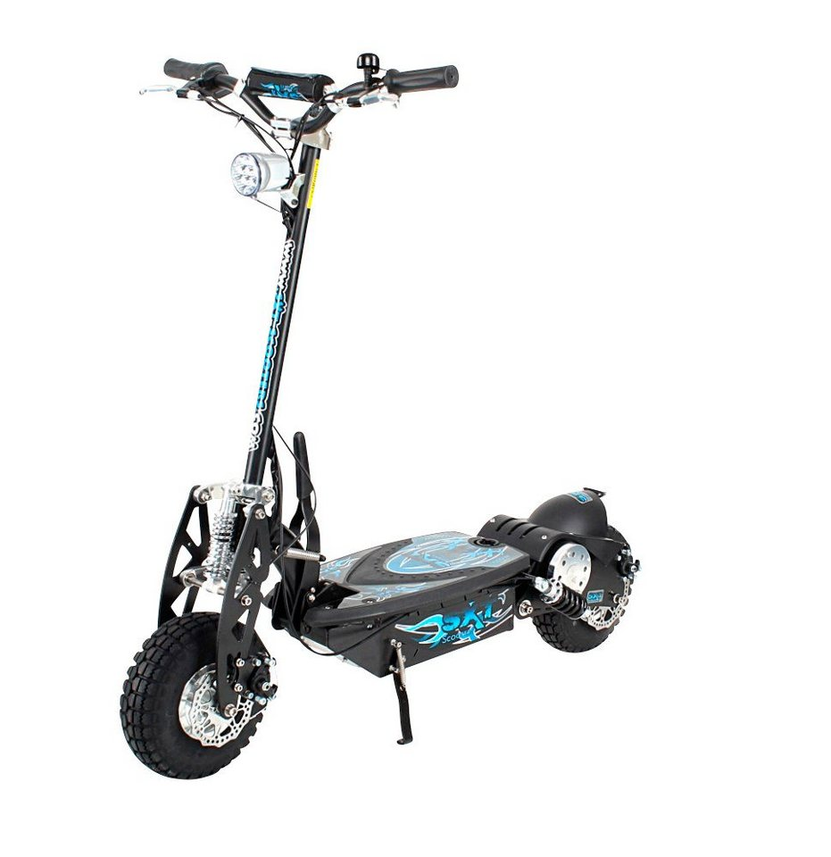 E-Scooter »SXT1000 Turbo«, 1000 Watt, 32 km/h in schwarz