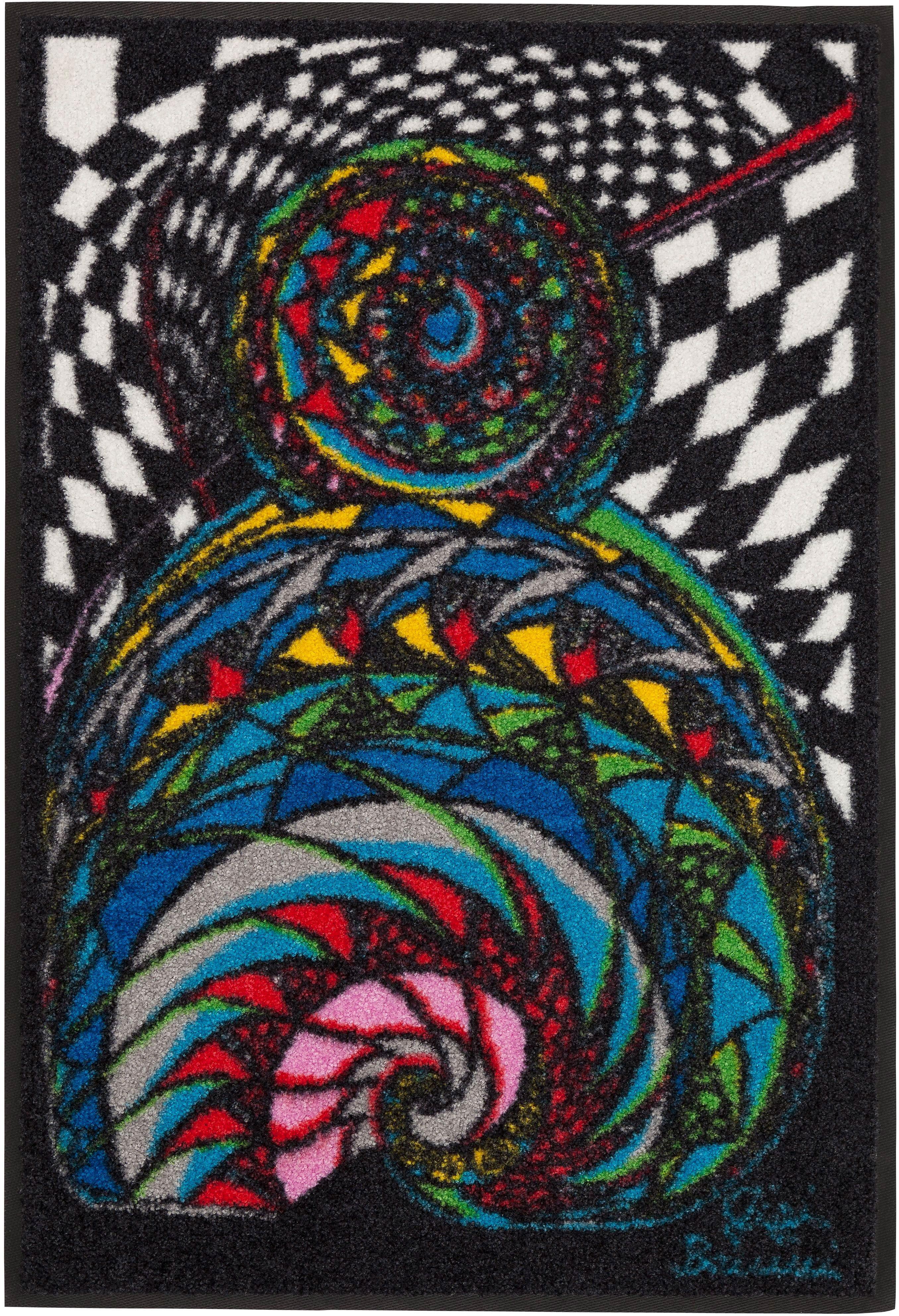 Fußmatte »Der Traum«, Salonloewe, rechteckig, Höhe 7 mm, waschbar, In- und Outdoor mit rutschhemmender Beschichtung