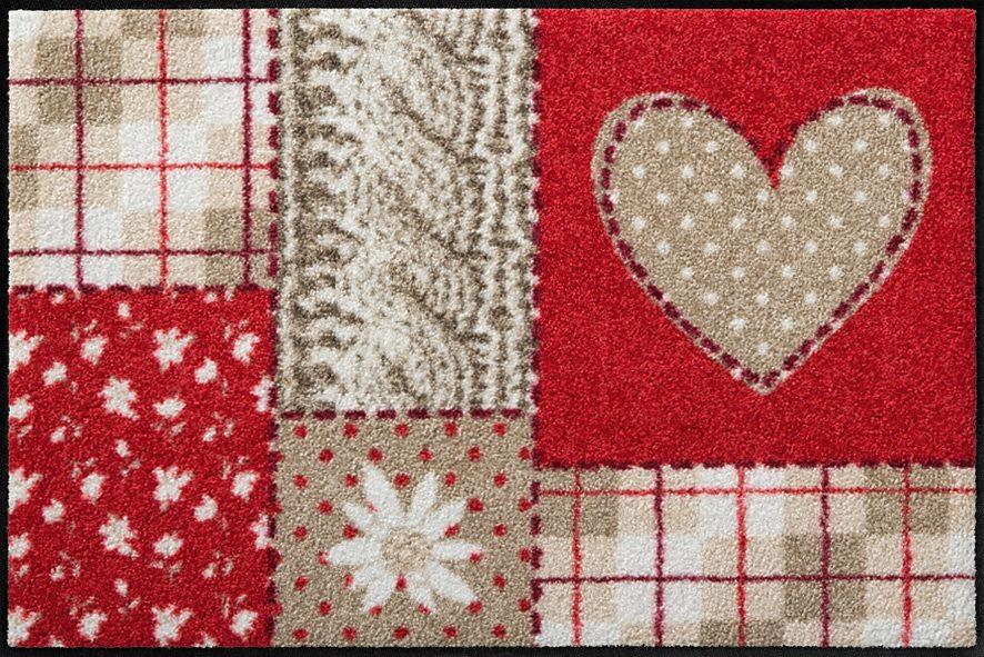 Fußmatte, Salonloewe, »Liesl«, waschbar, In- und Outdoor mit rutschhemmender Beschichtung