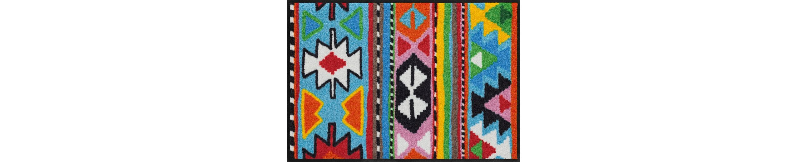 Fußmatte, Salonloewe, »Inka«, waschbar, In- und Outdoor mit rutschhemmender Beschichtung
