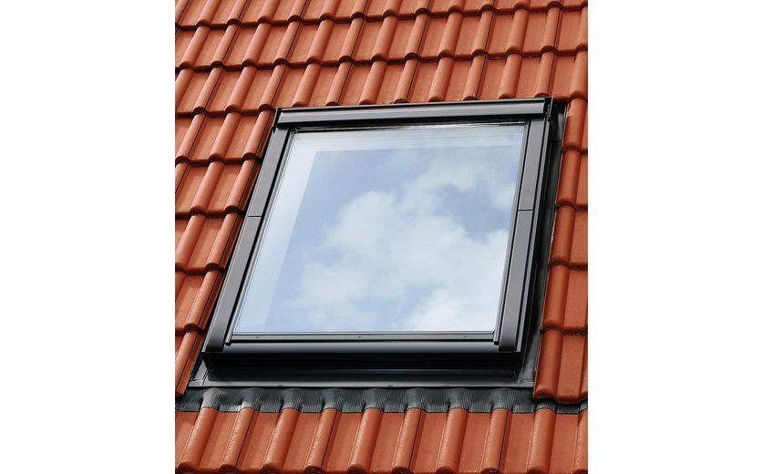 Eindeckrahmen »EDZ 2000« für Fenstergröße: FK06 in alu-grau