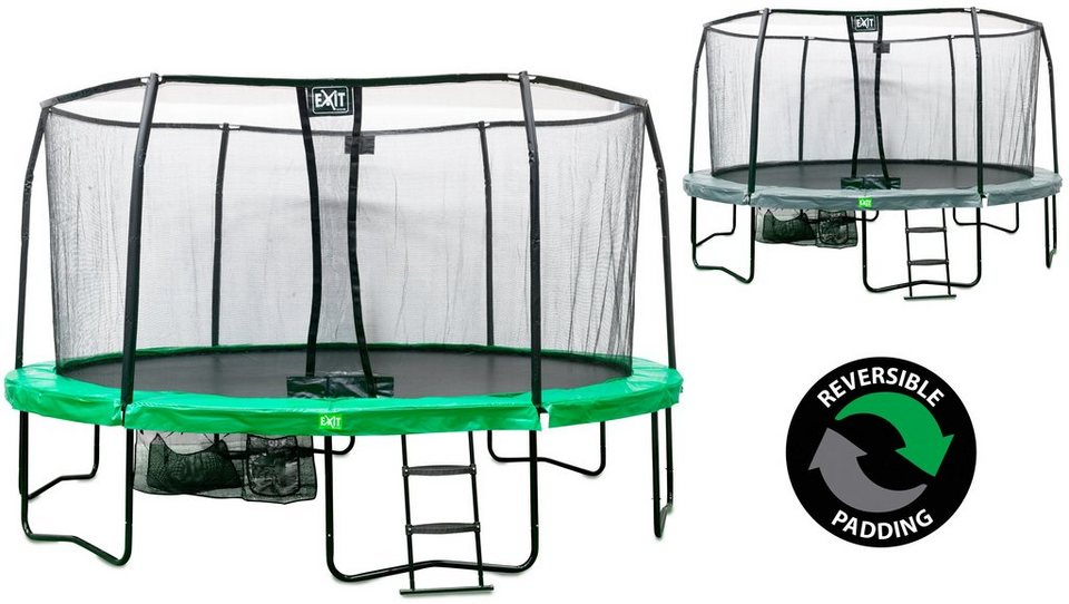 Trampolin »EXIT JumpArenA All-in 1«, Ø 457 cm