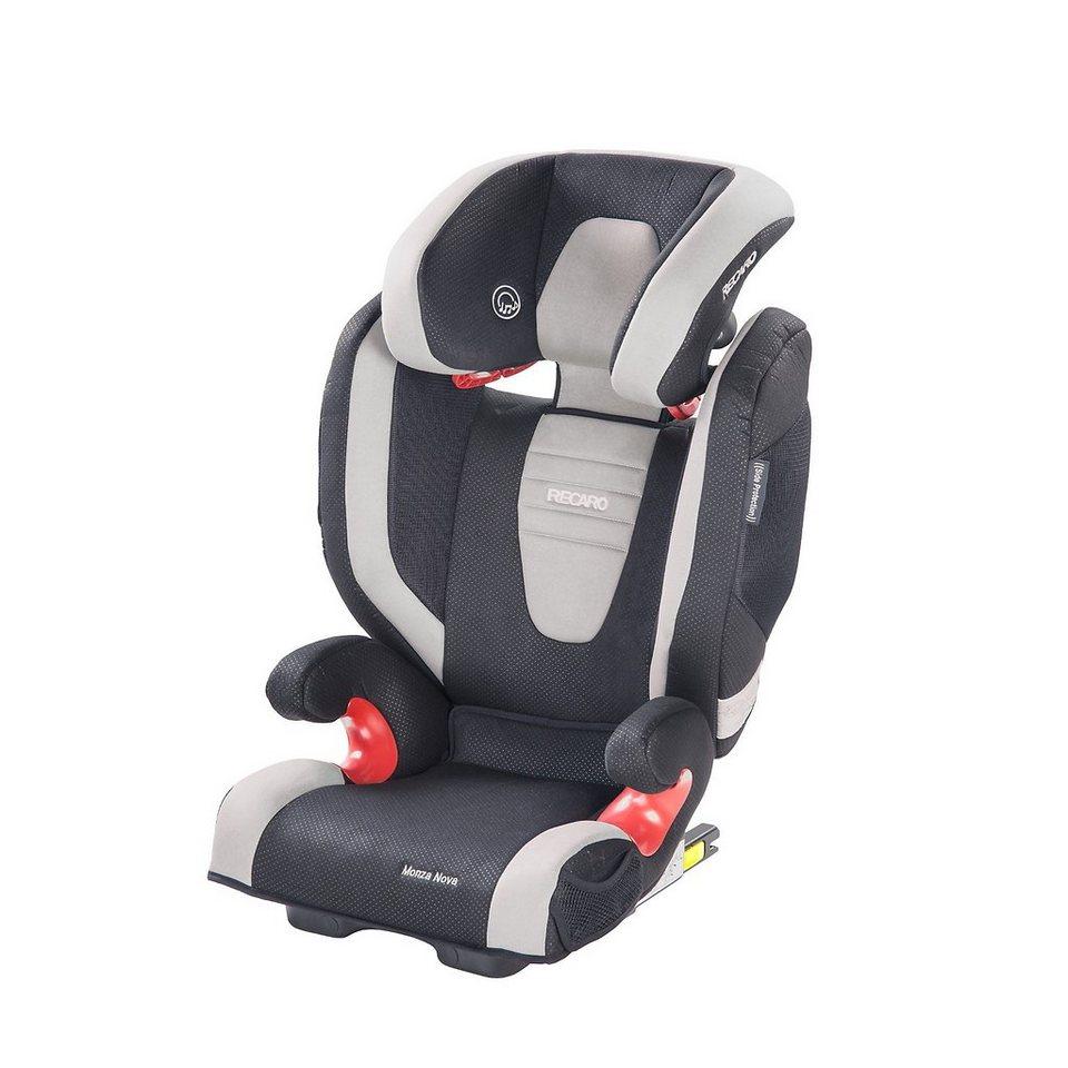 RECARO Auto-Kindersitz Monza Nova 2 Seatfix, Graphite in graphit