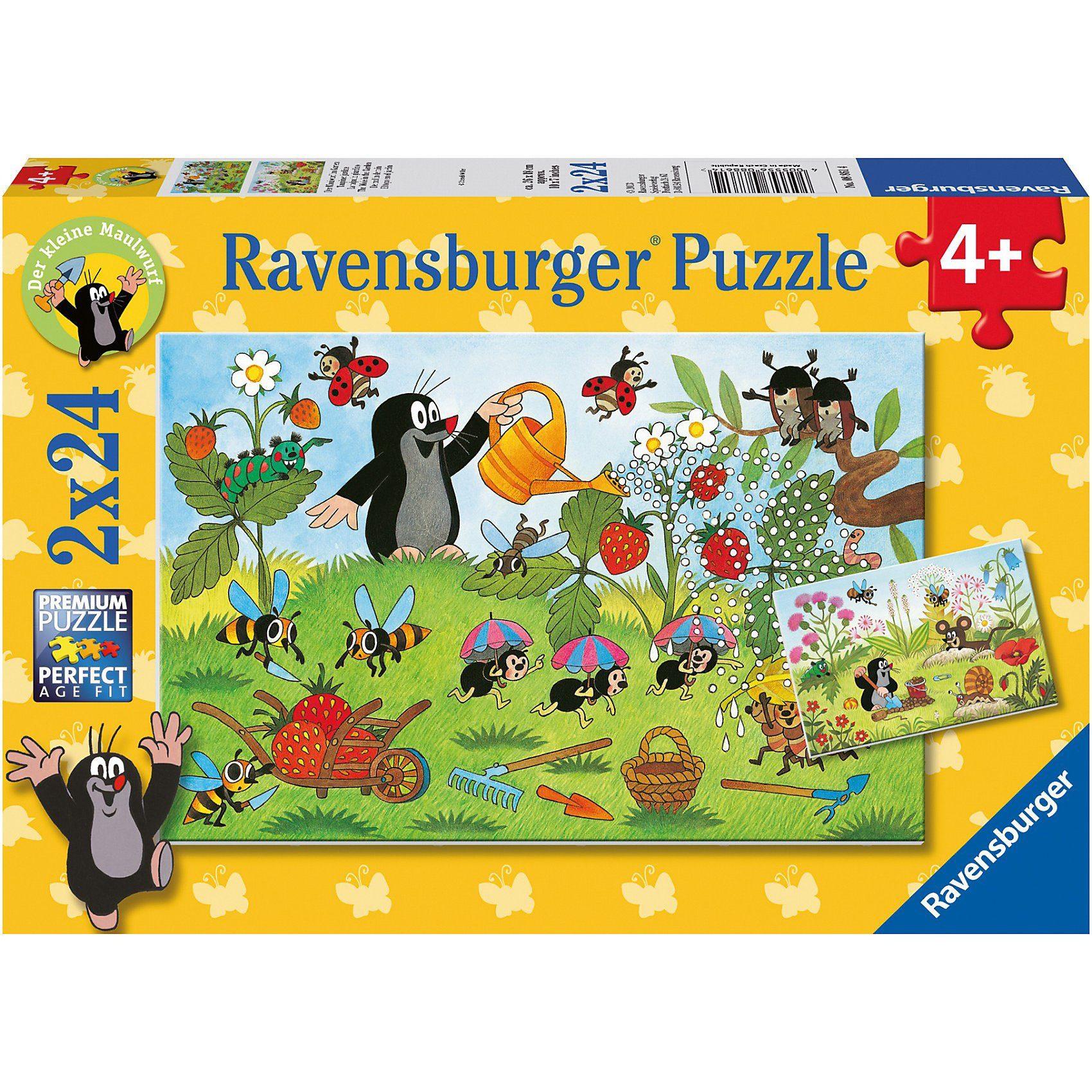 Ravensburger Der Maulwurf im Garten 2 x 24