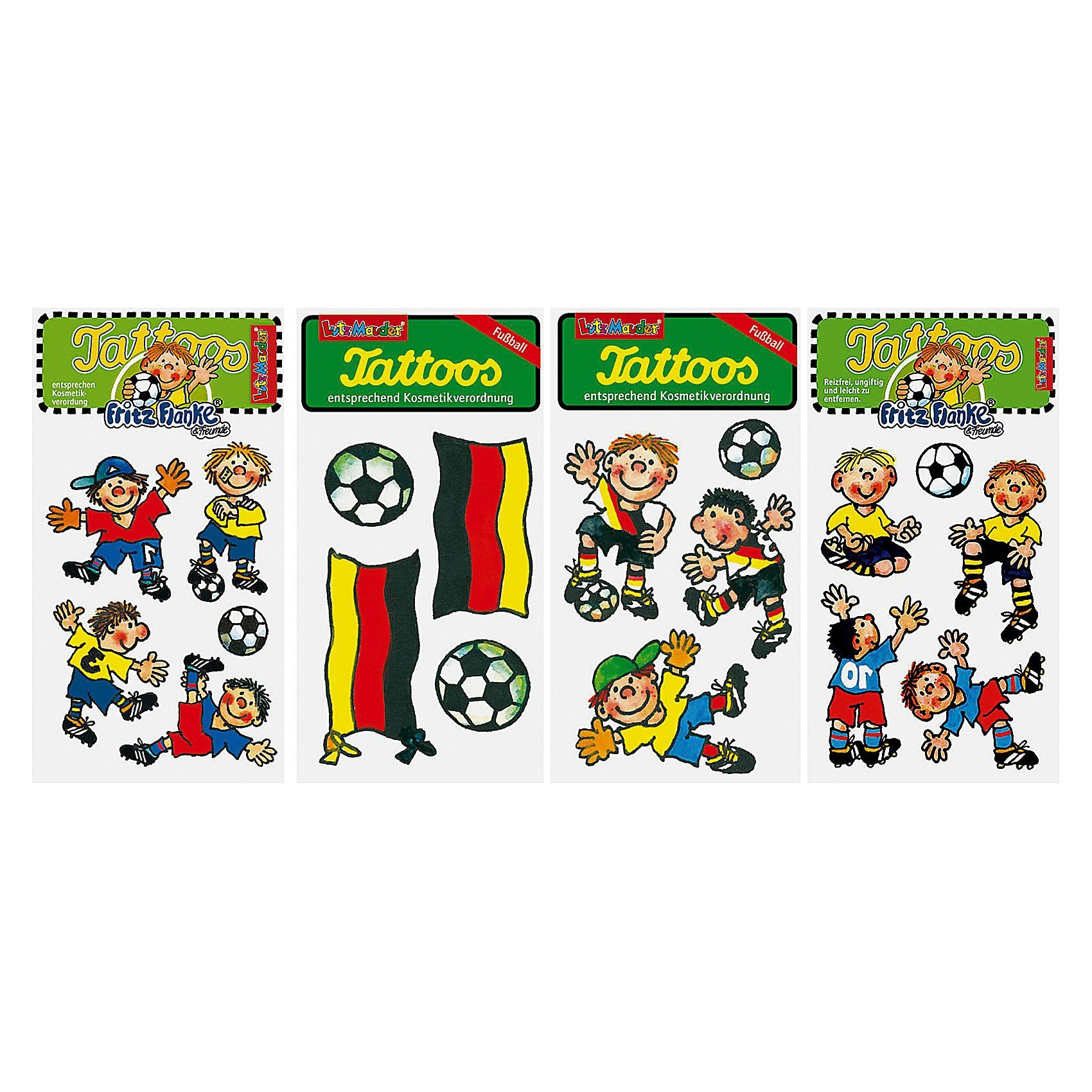 Lutz Mauder Verlag Tattooset Fußball