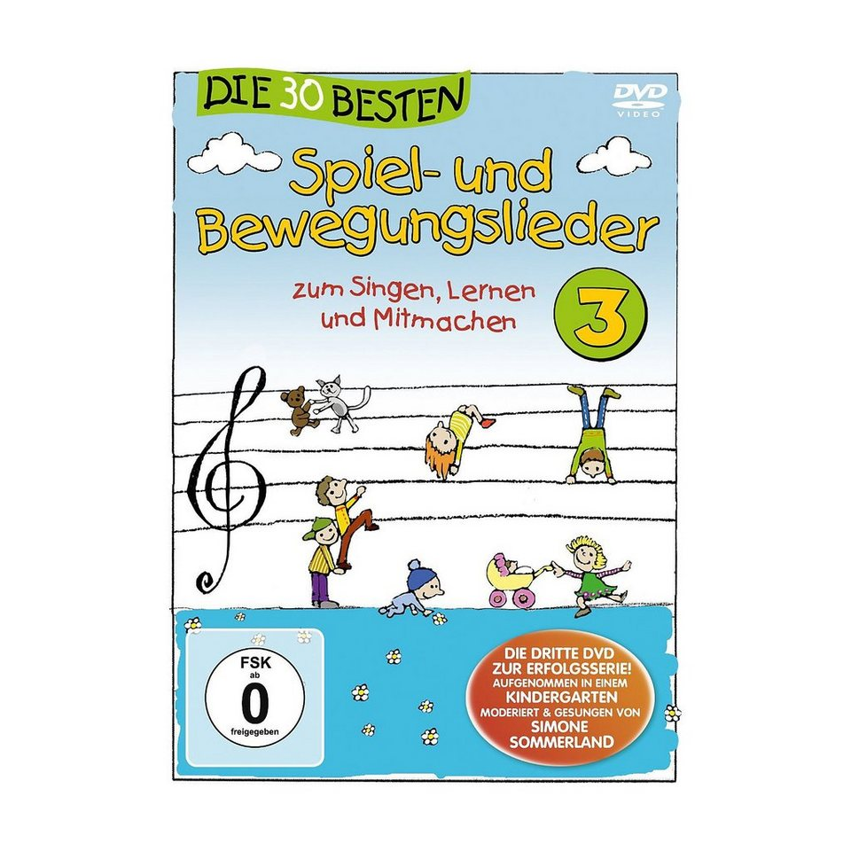 Universal Music GmbH DVD Die 30 besten Spiel und Bewegungslieder 3