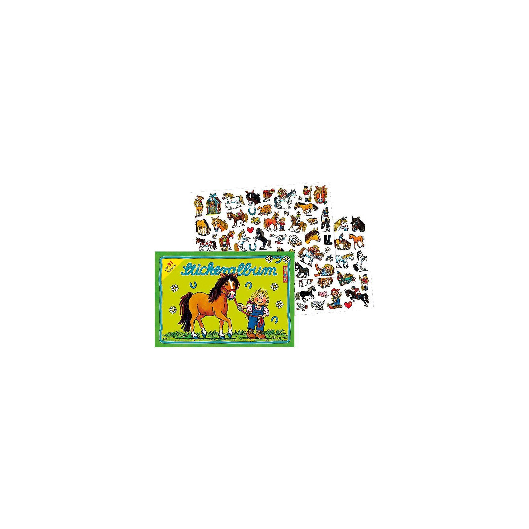 Lutz Mauder Verlag Stickerset Mein Ponyhof