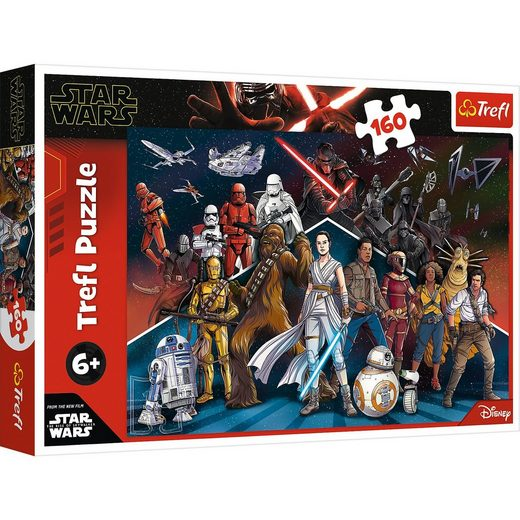 Trefl Puzzle Heroes of the Star Wars, 160 Teile