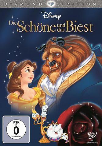 DVD »Die Schöne und das Biest (Diamond Edition)«