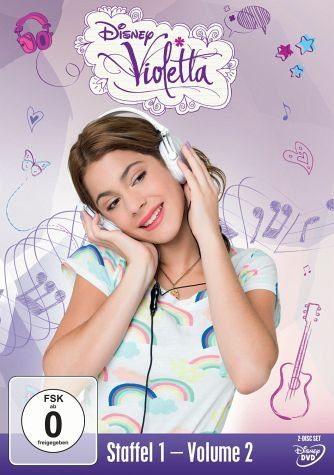 DVD »Violetta - Staffel 1, Volume 2 (2 Discs)«