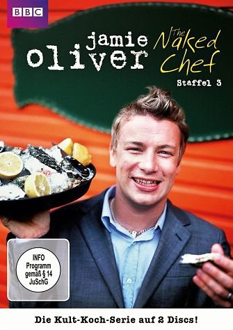 DVD »Jamie Oliver - The Naked Chef, Staffel 3 (2...«