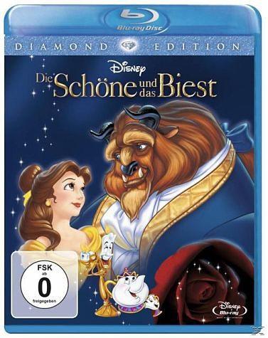 Blu-ray »Die Schöne und das Biest (Diamond Edition, 2...«