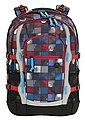 4YOU Schulrucksack mit Laptop- und Tabletfach, Square Blue/Red, »Jump«, Bild 1