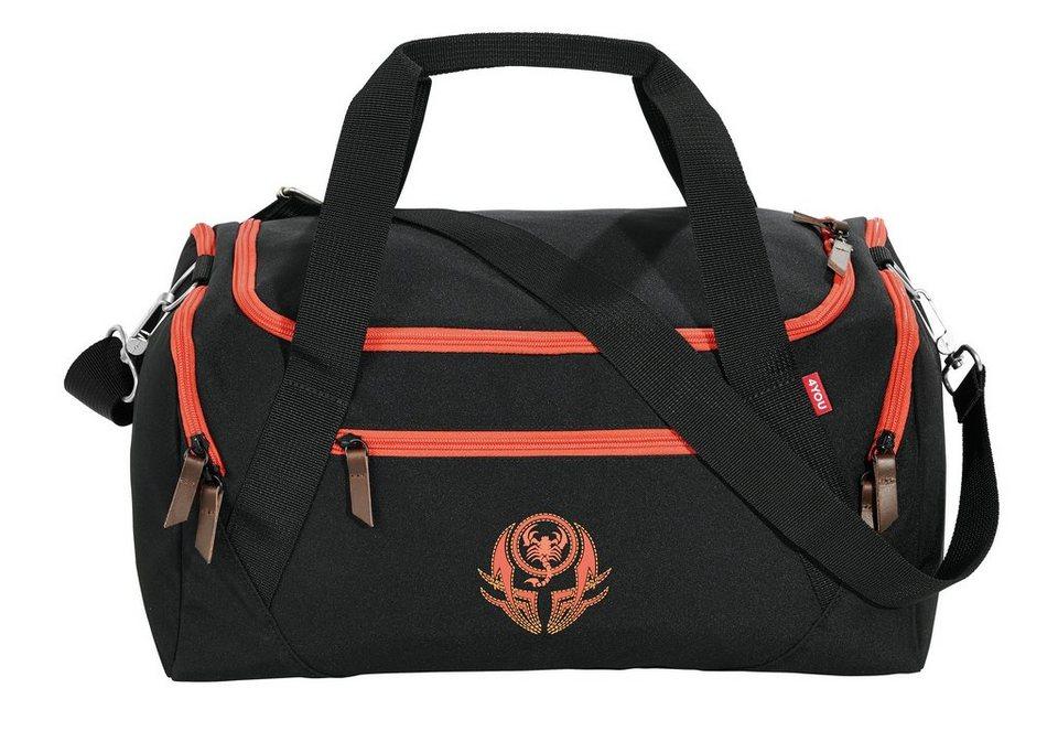 4YOU Sporttasche, Scorpio, »Sportbag« in Scorpio
