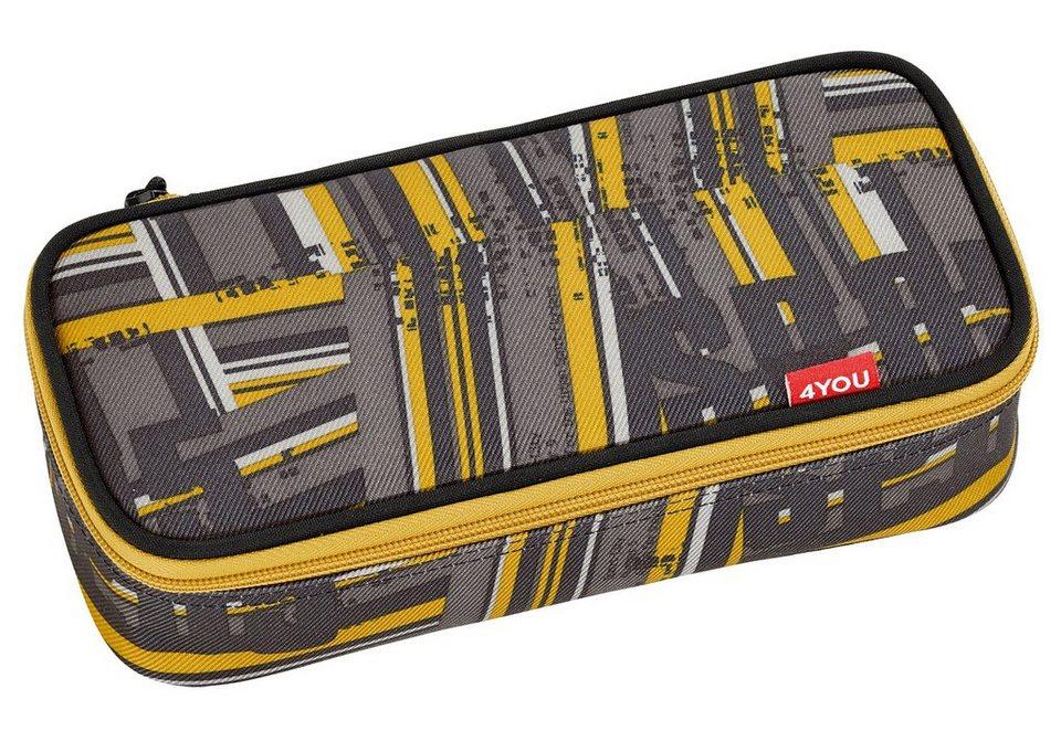 4YOU Mäppchen mit Geodreieck®, Stripes, »Pencil Case« in Stripes