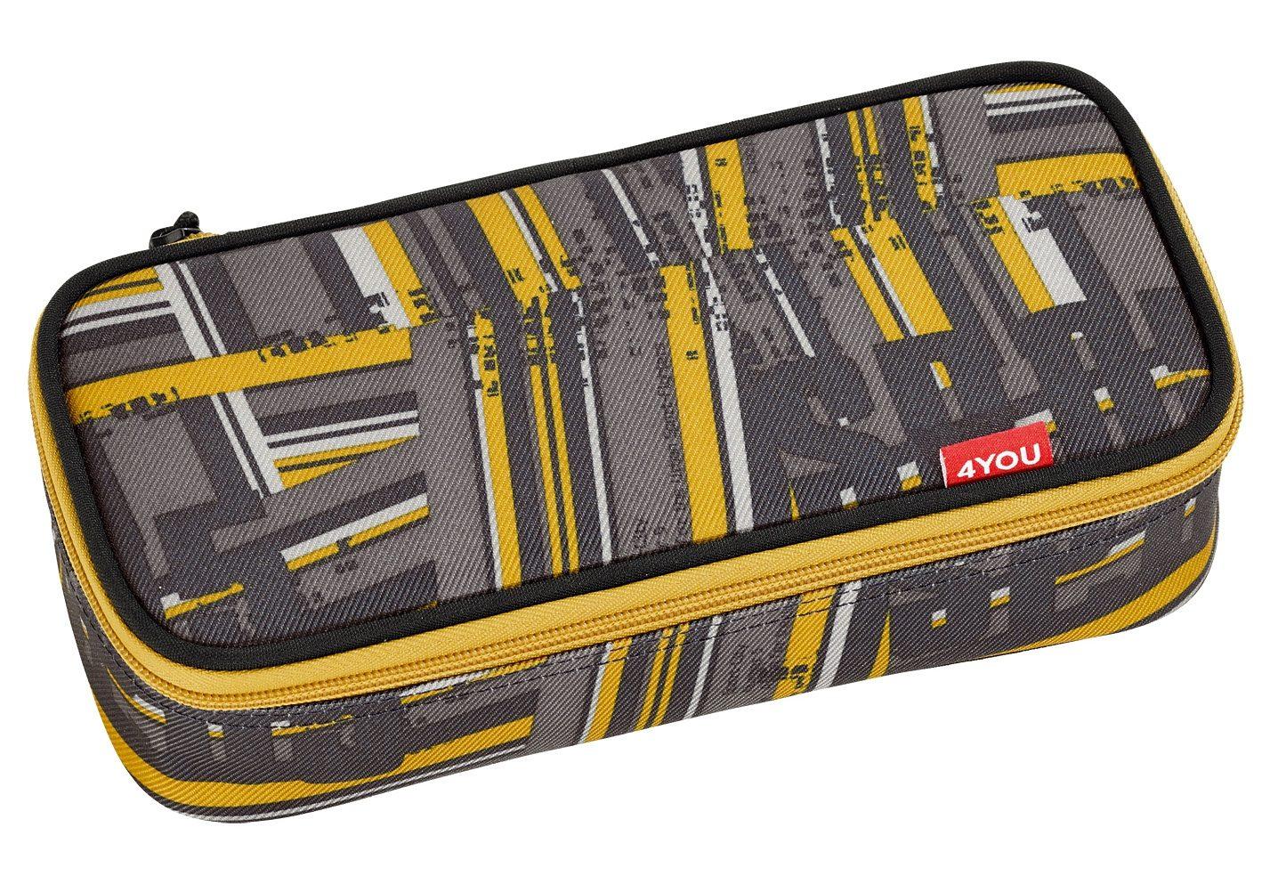 4YOU Mäppchen mit Geodreieck®, Stripes, »Pencil Case«