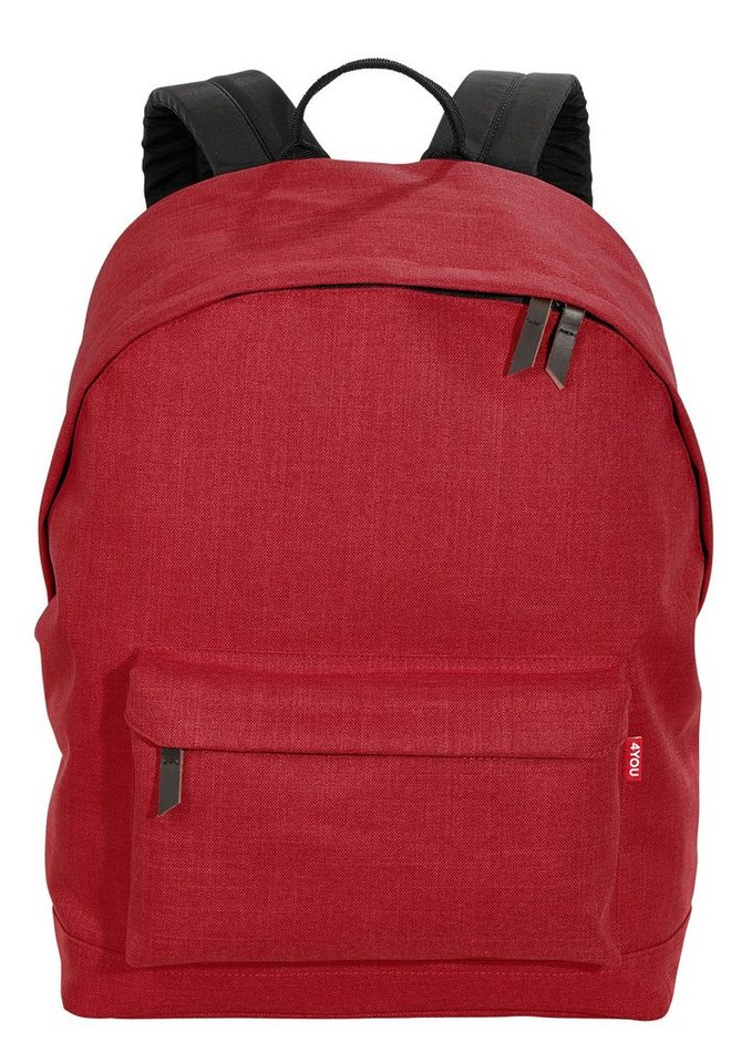 4YOU Rucksack, Soft Red, »Daypack« in Soft Red