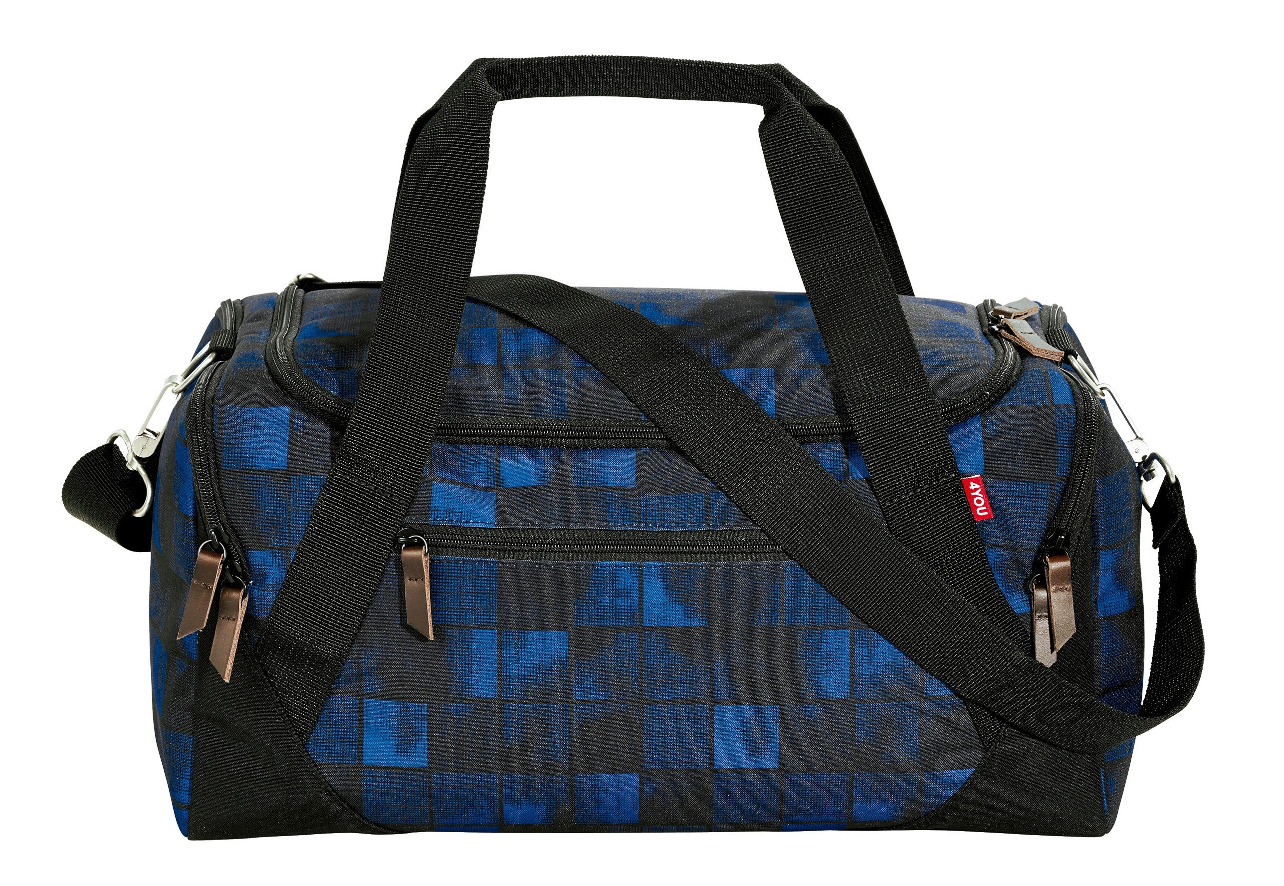 4YOU Sporttasche, Squares Blue, »Sportbag«