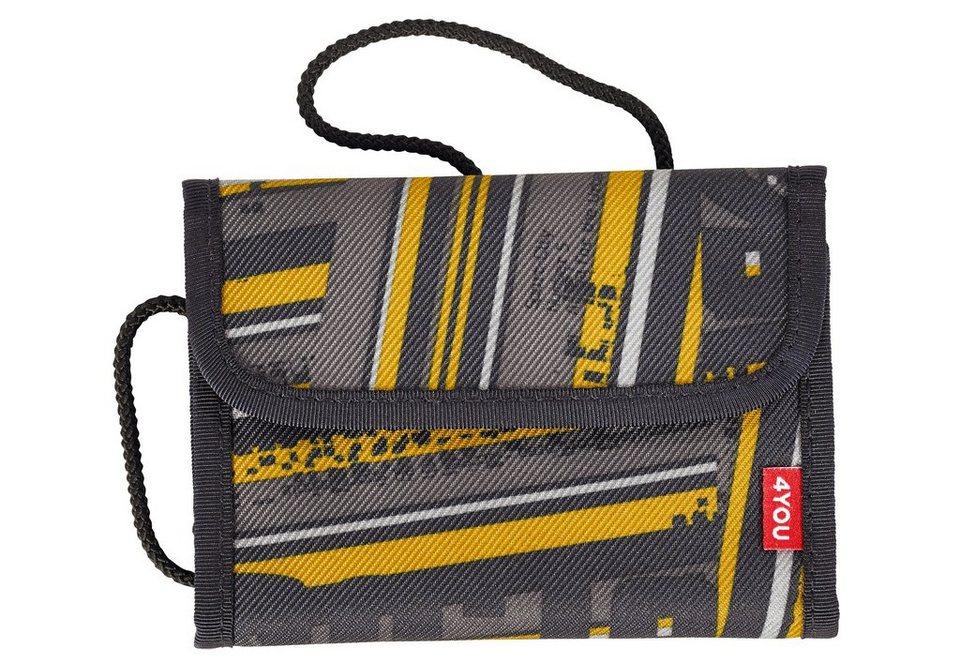 4YOU 2-in-1 - Geldbörse und Brustbeutel, Stripes, »Money Bag« in Stripes