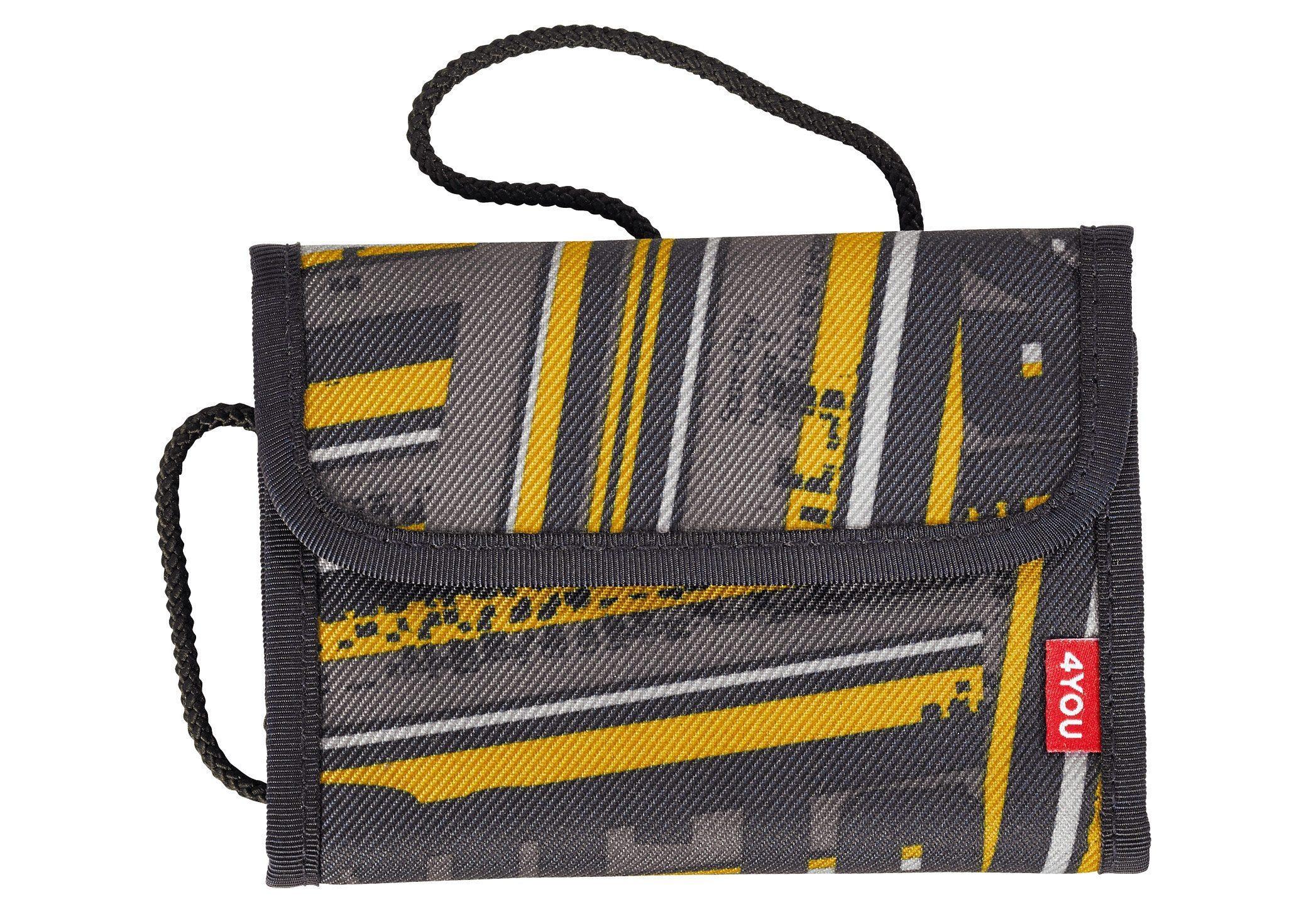 4YOU 2-in-1 - Geldbörse und Brustbeutel, Stripes, »Money Bag«