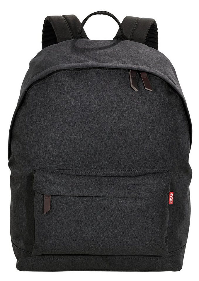 4YOU Rucksack, Anthrazit, »Daypack« in Anthrazit
