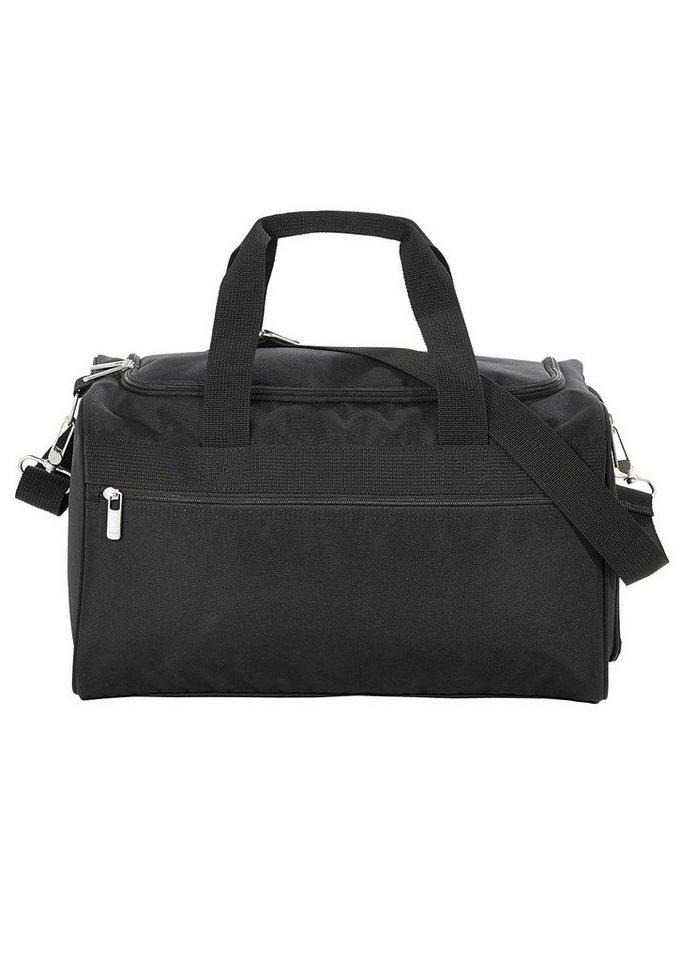 4YOU Sporttasche, Black, »Sportbag M« in Black
