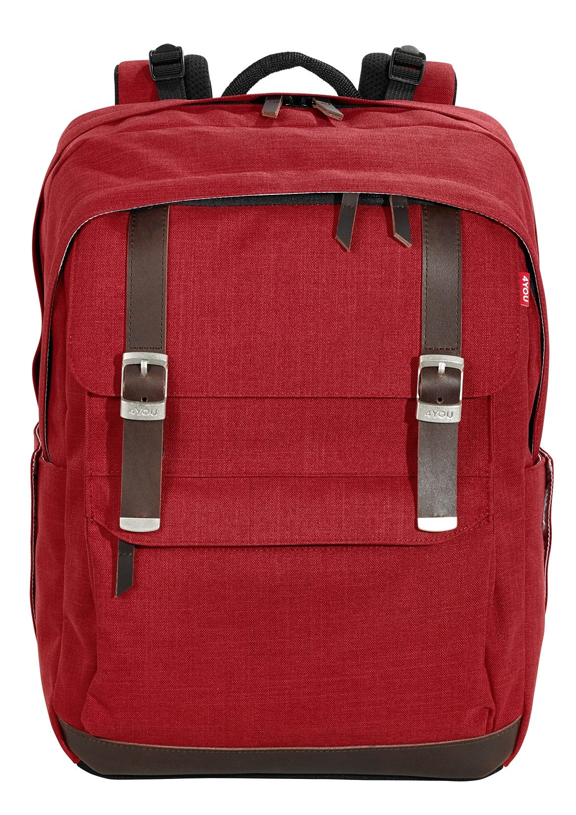 4YOU Schulrucksack, Soft Red, »Legend«