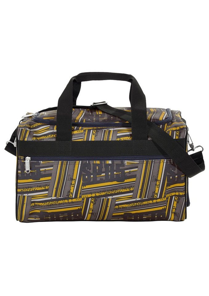 4YOU Sporttasche, Stripes, »Sportbag M« in Stripes