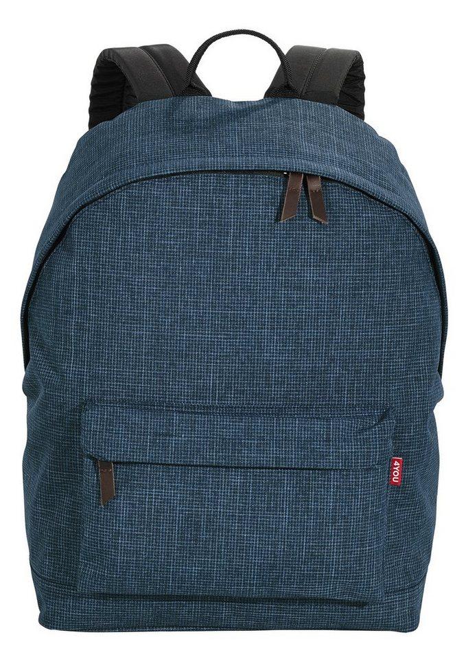 4YOU Rucksack, Pixel Blue, »Daypack« in Pixel Blue