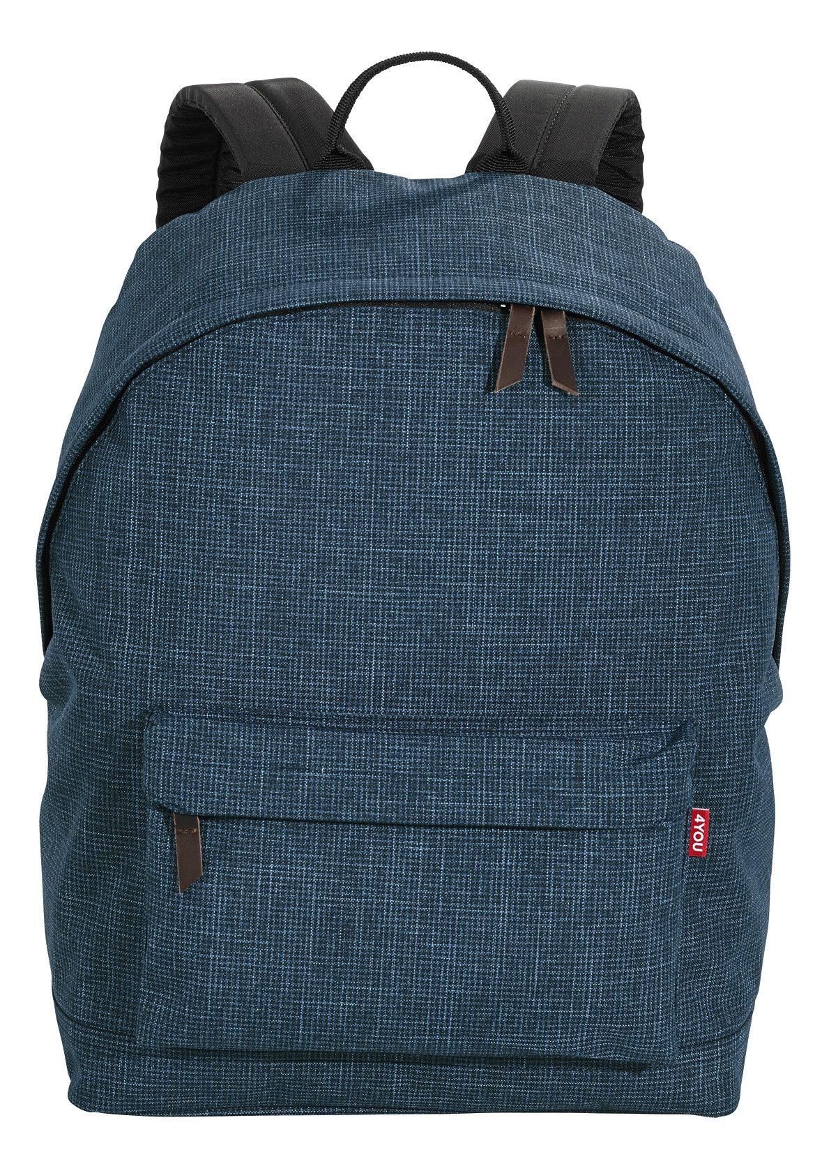 4YOU Rucksack, Pixel Blue, »Daypack«
