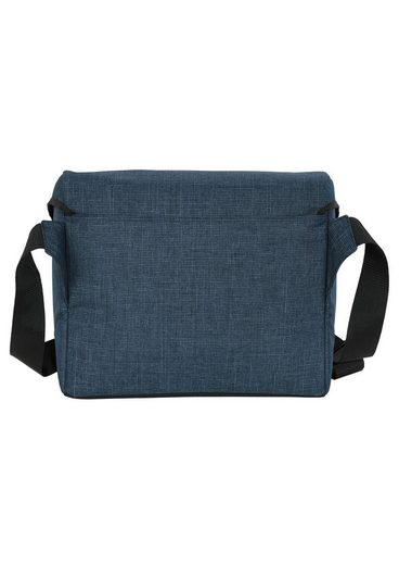 Mit Umhängetasche 4you »messengerbag« Laptopfach Pixel Blue d5OfPqw7
