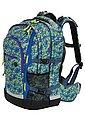 4YOU Schulrucksack mit Laptop- und Tabletfach, Pixel Smaragd, »Jump«, Bild 2