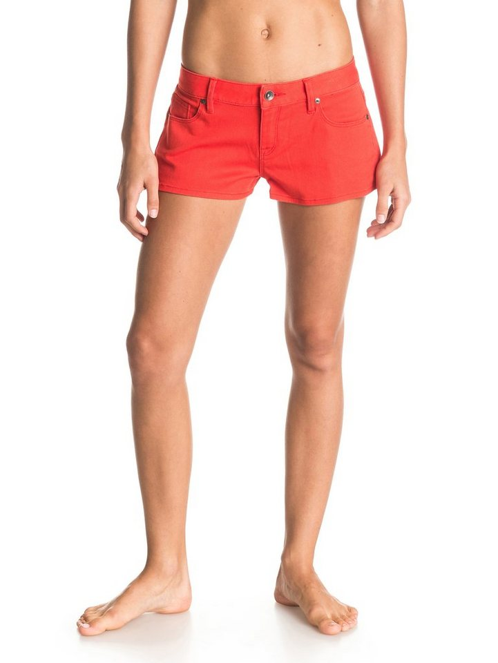 Roxy Denim-Shorts »Forever Colors« in fiery orange