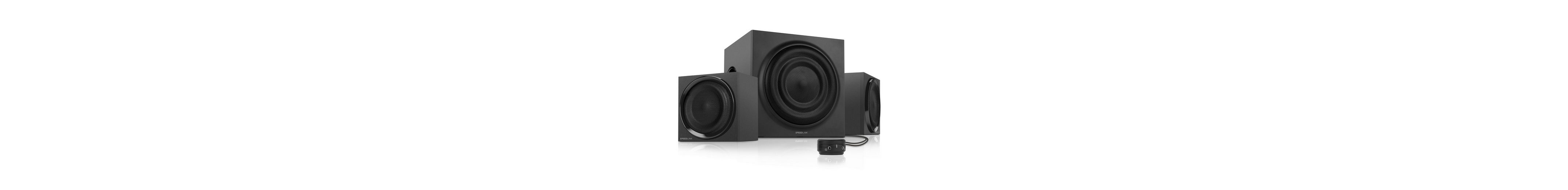 SPEEDLINK 2.1-Lautsprechersystem »QUANUM 2.1 Subwoofer System Lautsprecher«