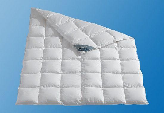 Daunenbettdecke, »Kuscheltraum«, Haeussling, normal, Füllung: 60% Daunen, 40% Federn, Bezug: 100% Baumwolle, (1-tlg)
