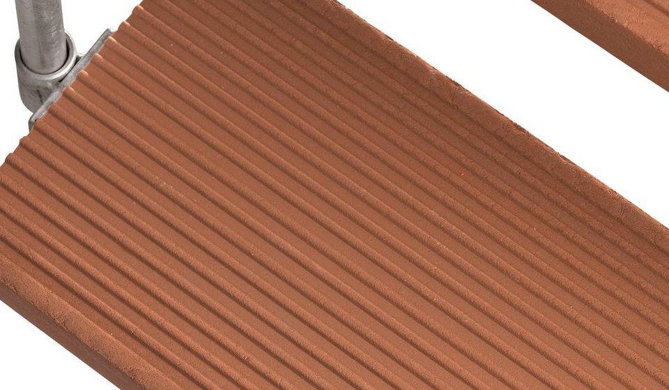 Trimaxstufe »Gardentop, braun; 80 cm Breite« in braun