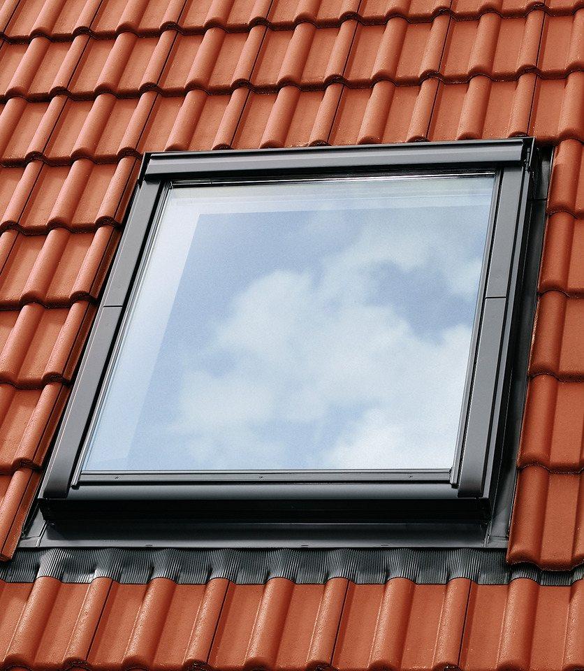 Eindeckrahmen »EDZ 2000« für Fenstergröße: MK06 in alu-grau in grau