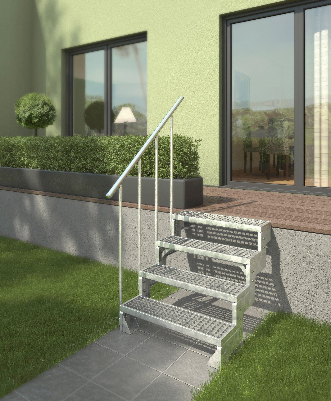 Gitterroststufe »Gardentop, 100 cm Breite«