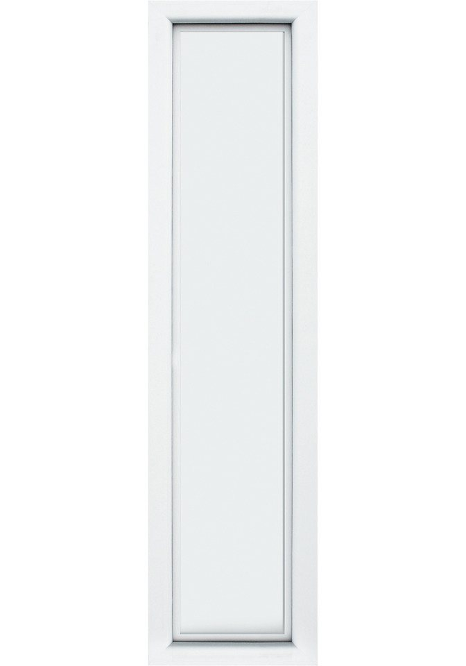 KM MEETH ZAUN GMBH Seitenteile »S04«, für Alu-Haustür, BxH: 50x198 cm, weiß in weiß