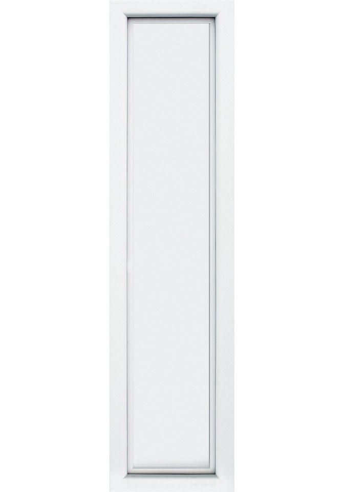 KM MEETH ZAUN GMBH Seitenteile »S04«, für Alu-Haustür, BxH: 50x198 cm, weiß
