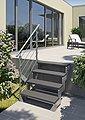 DOLLE Trimaxstufe »Gardentop«, BxTxH: 80x22x4 cm, anthrazit, Bild 2
