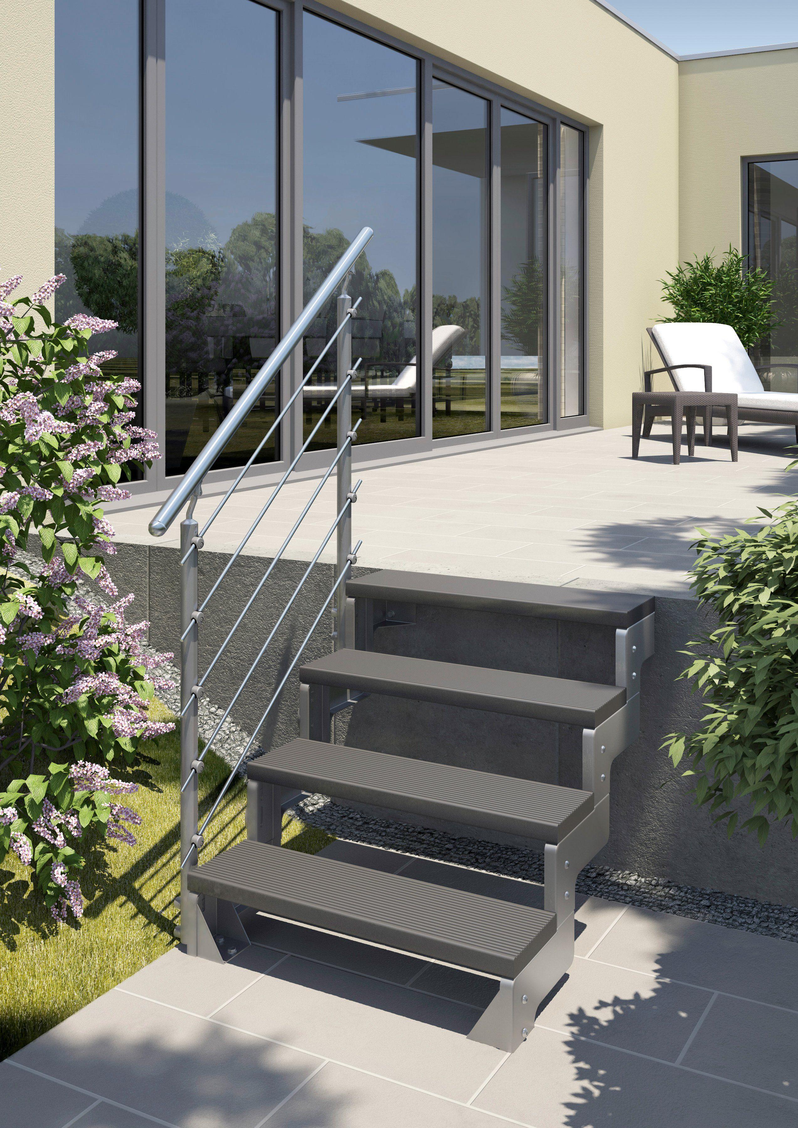 Trimaxstufe »Gardentop«, anthrazit, 80 cm Breite