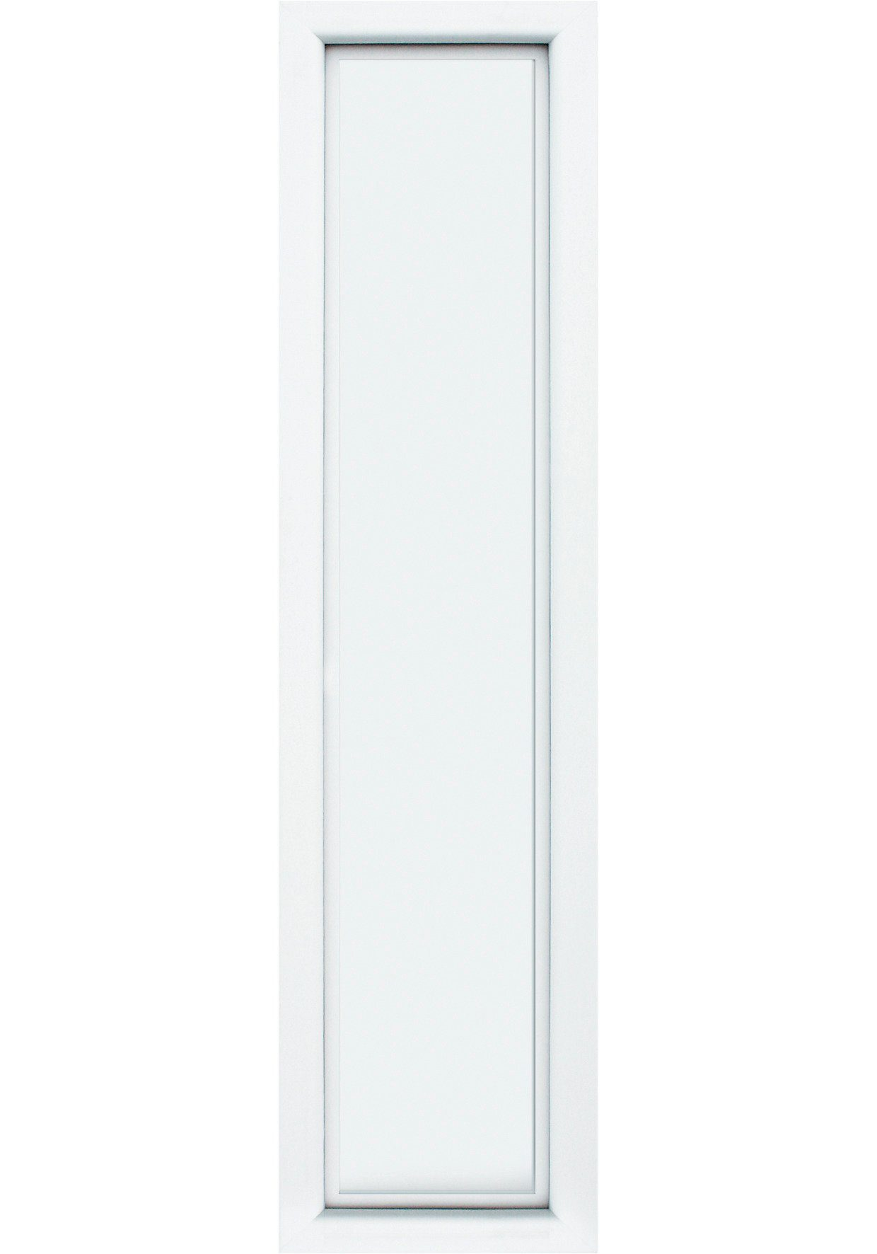 KM MEETH ZAUN GMBH Seitenteile »S04«, für Alu-Haustür, BxH: 50x208 cm, weiß