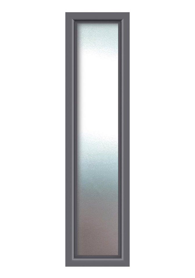 KM MEETH ZAUN GMBH Seitenteile »S01«, für Alu-Haustür, BxH: 60x208 cm, anthrazit in grau