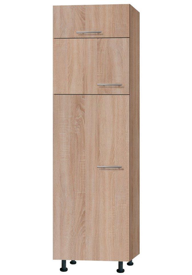 Kühl-Gefrierkombination »Lasse«, Höhe 211,8 cm in eichefarben