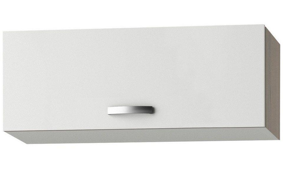 Küchenhängeschrank »Torger«, Breite 80 cm in piniefarben nougat/weiß