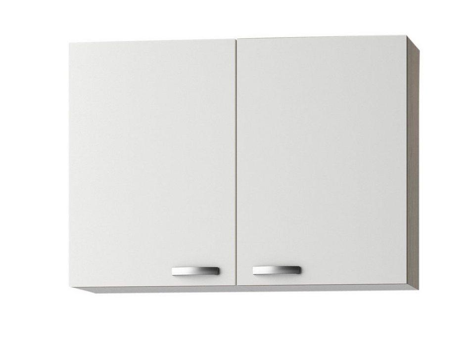 Küchenhängeschrank »Torger«, Breite 100 cm in piniefarben nougat/weiß