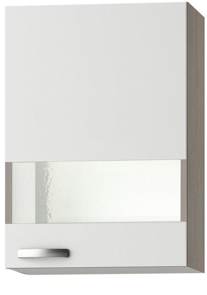 Küchenhängeschrank »Torger«, Breite 50 cm in piniefarben nougat/weiß